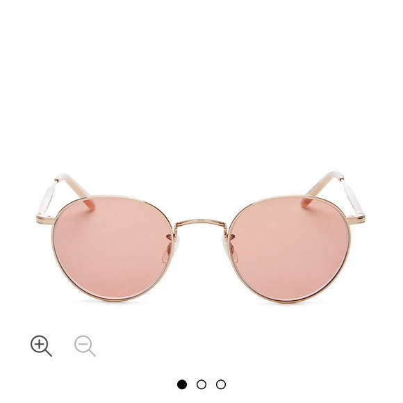 Garrett Leight Accessories - Garret Leight Wilson round sunglasses